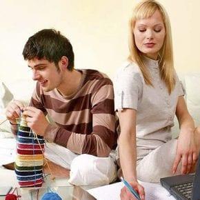 Что происходит, если в семье меняются ролями?
